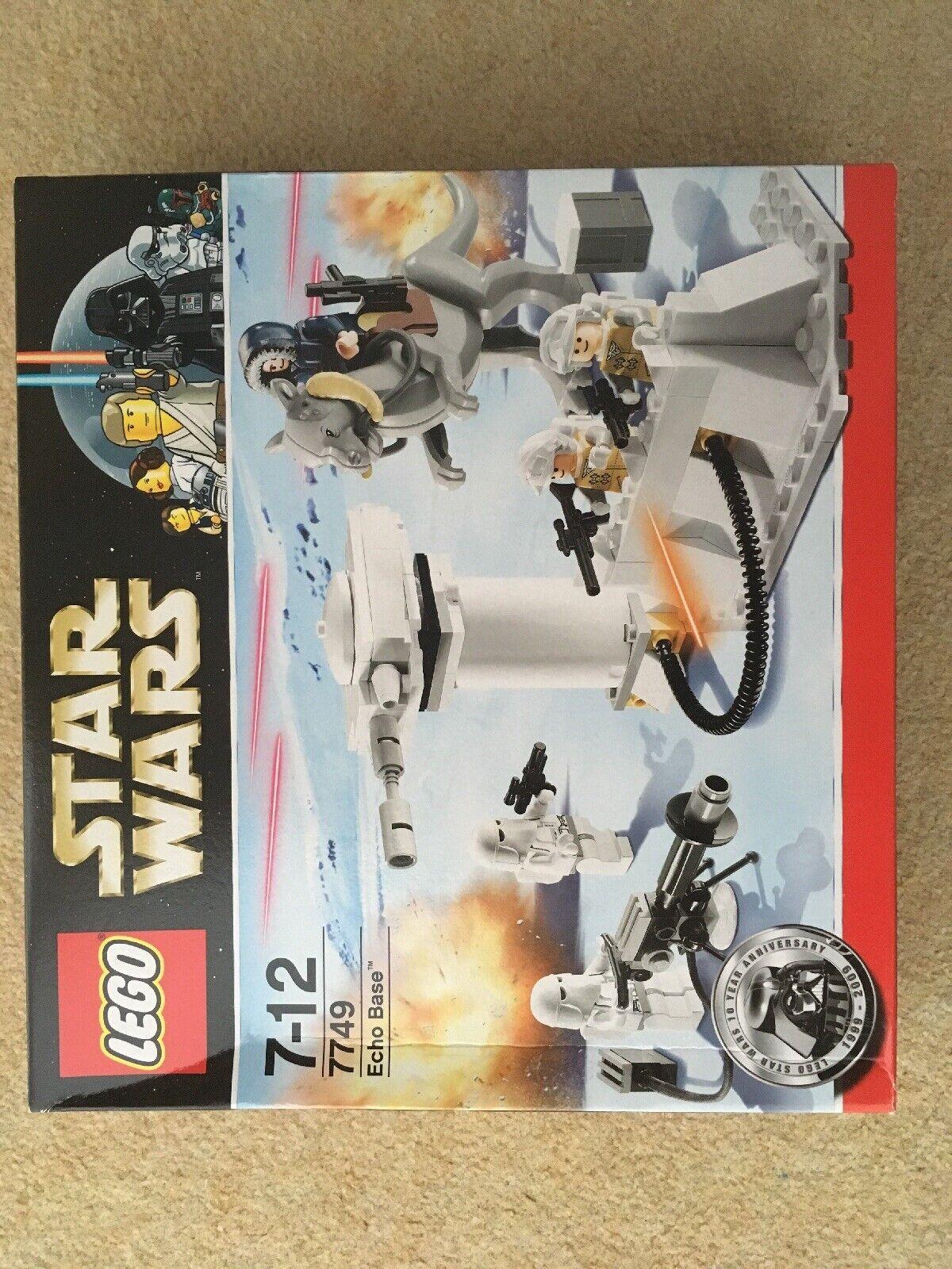 Lego Star wars - 7749 Echo Base - 2009 Set B - BNISB