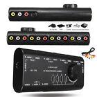 4 in 1 AV Video Audio Signal S-Video Switcher Splitter Hub Switch Box RCA Cable