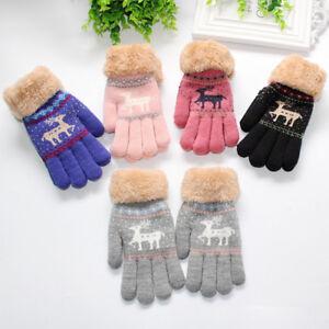 ff68b7f57bef Toddler Baby Cute Thicken Christmas Fawn Girls Boys Of Winter Warm ...