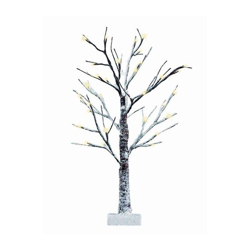 Albero Di Natale 400 Cm.Albero Di Natale Innevato Con 400 Luci Luci Luci Led Bianco Caldo