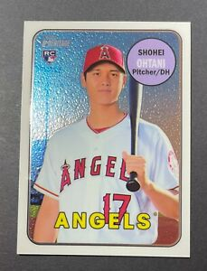 SHOHEI OHTANI 2018 Topps Heritage Chrome  RC Rookie #d to /999 -SHARP CLEAN! 600