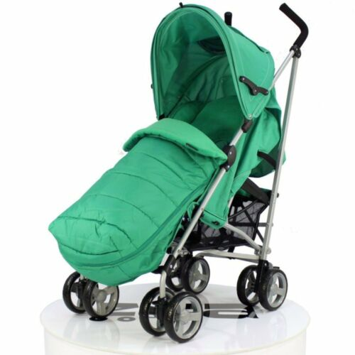 Mc Large Leaf Footmuff Leaf Baby Travel Zeta Vooom Pushchair Pram Stroller