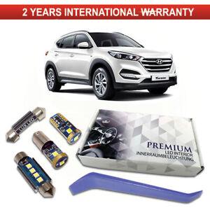 Hyundai-Tucson-Led-Interior-Kit-Set-Completo-Premium-7-SMD-Blanco-Libre-De-Errores
