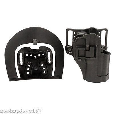 Springfield XD 4 XDM 3.8 Blackhawk Sportster CQC Concealment Holster Belt Paddle