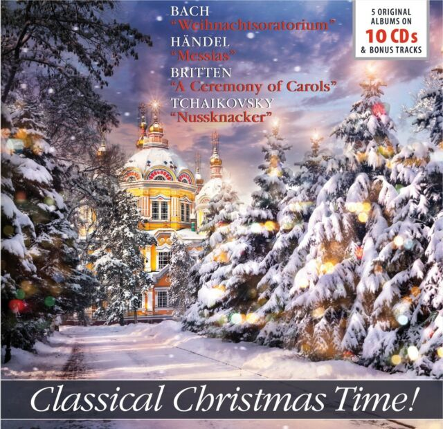 Classical Christmas Time!, 10 Audio-CDs