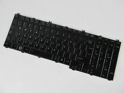 Genuine New Toshiba Satellite L350 L355 L355D Series Keyboard Black US