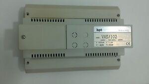 BPT-VAS-102-Alimentatore-supplementare-per-impianti-videocitofonici
