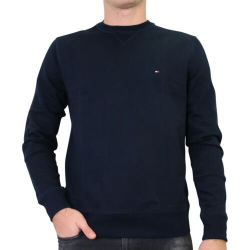 Tommy Hilfiger Sweatshirt Col Rond Pull Hommes Bleu mw0mw11604 CJM