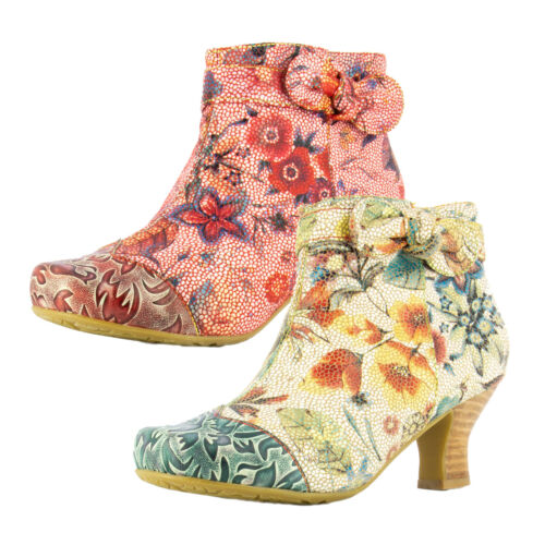 Laura Vita Cacndiceo 47 Damen Ankle Boots Stiefeletten