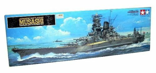 Tamiya Military Model 1350 War Ship Japanese Battleship MUSASHI Hobby 78031