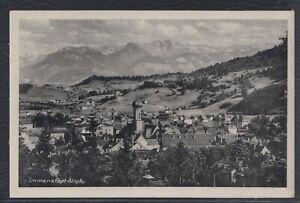 43585) AK Immenstadt Allgäu 1942 Feldpost Fischen
