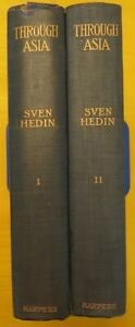 Sven-Hedin-THROUGH-ASIA-1899-First-US-edition