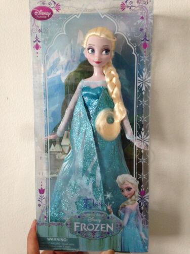 "Disney Frozen Elsa Doll 12/"" Authentic"