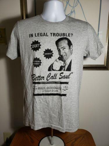 Better Call Saul Women's Gray Small T-Shirt Breaki
