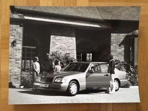 Werkfoto-Mercedes-S-Klasse-W140-Pressefoto-Pressebild-Factory-Photo-Prospekt