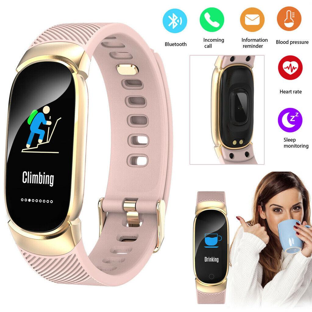 Women Girls Watch Bluetooth Smart Watch Step Sports Bracelet For iPhone Samsung bluetooth bracelet Featured for girls iphone smart sports step watch women