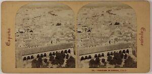Panorama-Da-Cordova-Spagna-Foto-Stereo-PL52n7-Vintage-Albumina-c1865