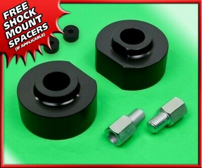 """For 99-20 F250//F350 Superduty 2Wd 2/"""" Black Front Leveling Lift Kit W// Studs"""
