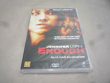 ENOUGH DVD : STARRING JENNIFER LOPEZ BRAND NEW AND SEALED