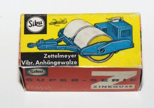 Reprobox Siku V 241 Zettelmeyer Vibrations-Anhängewalze