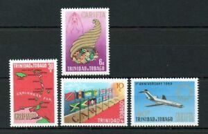 Trinidad & Tobago 1969 C. A.r.i.f.t.a. Neuf Sans Charnière Set-afficher Le Titre D'origine