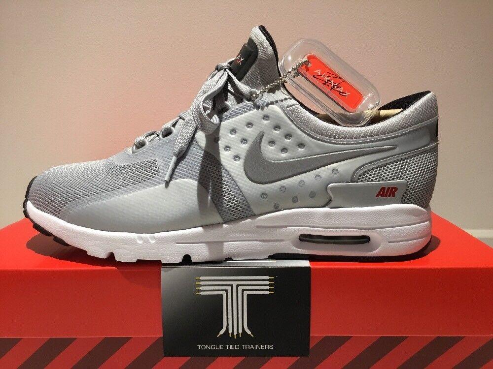 Nike Air Max Zero QS QS QS Silver Bullet  863700 002  Uk Size 7.5  Euro 42 7fc7f3