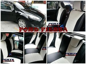 Ford Fiesta High quality Factory Fit Customized Leather CAR SEAT COVER