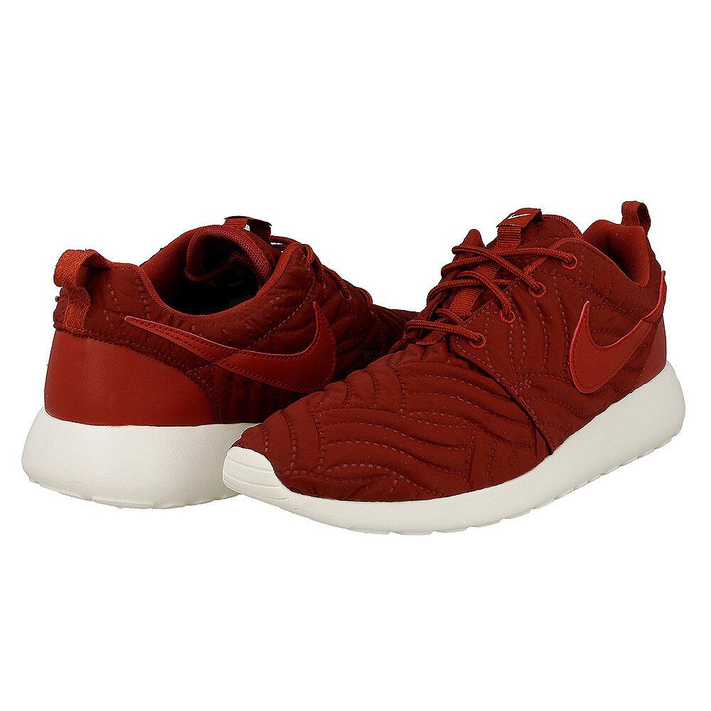 New Women's Nike Roshe One Premium Dark Cayenne Ivory Size 8.5 833928 600