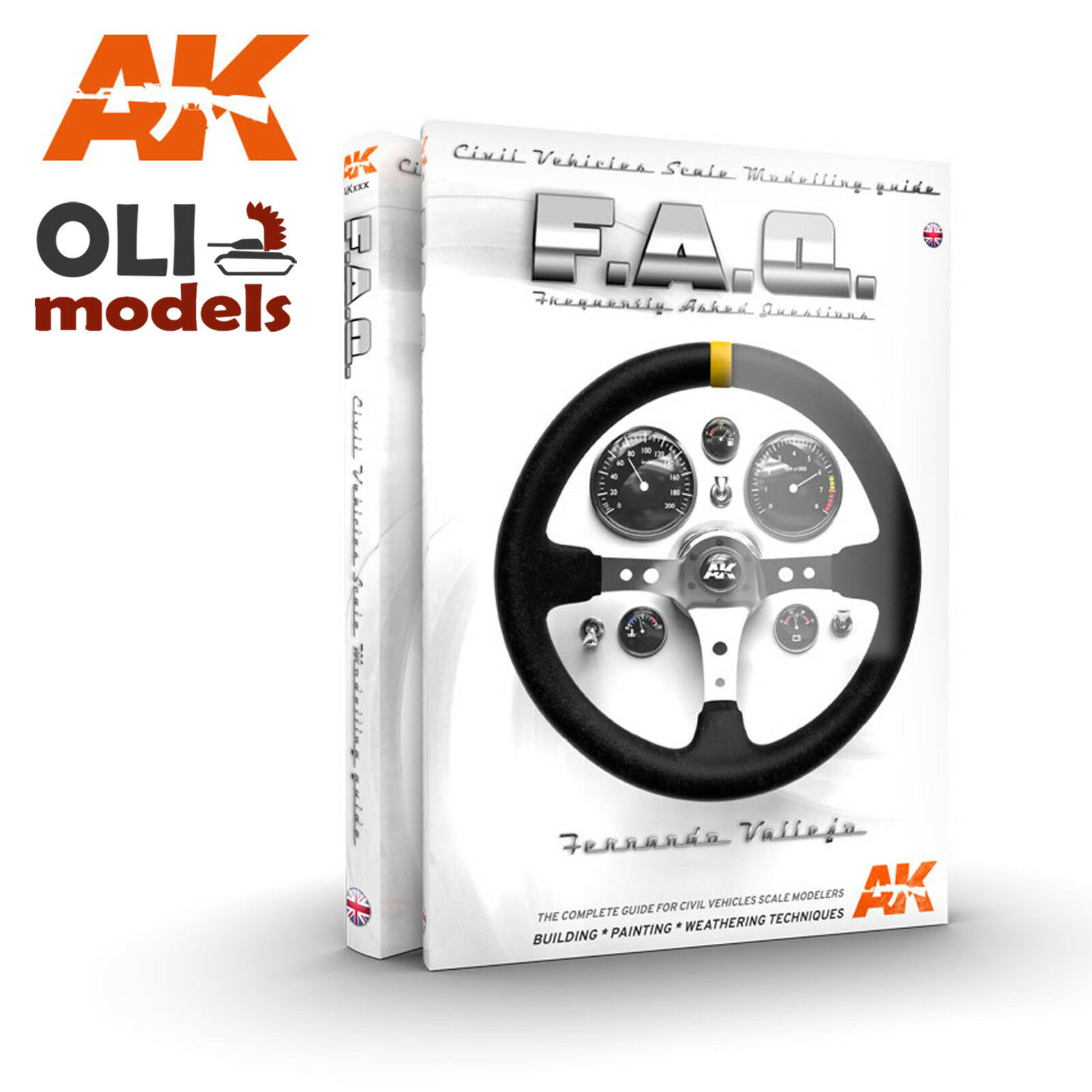 FAQ CIVIL VEHICLES Scale Modelling Guide F.A.Q. - AK Interactive 282