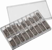 Watch Band Spring Bar Assortment 360 Pieces Stainless Double Flange