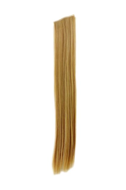 2 Clips Extension Strand Smooth Blonde YZF P2S18 86 45 cm Hair Piece Colour