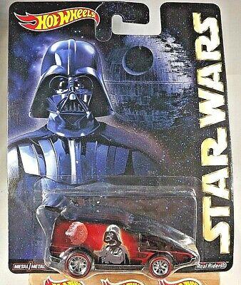 Hot Wheels Pop Culture 2015 Star Wars Darth Vader Spoiler Sport Diecast Car Mattel CFP39