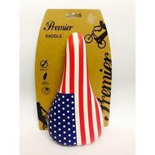 Premier USA Stars & Stripes BMX Saddle - Universal Fit For All Bikes