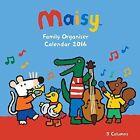 Maisy Family Organiser Wall Calendar 2016 Flame Tree
