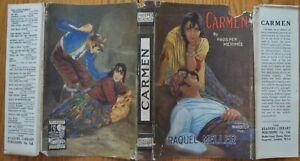 Carmen-by-Prosper-Merimee-1926-Readers-library-in-rare-dustjacket