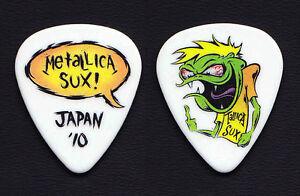 Metallica-Sux-Cartoon-Guitar-Pick-2010-Japan-Tour