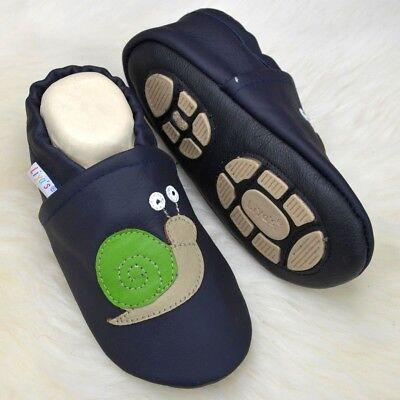 Pantofole's Baby Scarpe Pantofole Liya Lauflernschuhe - #670b Lumaca- Il Prezzo Rimane Stabile