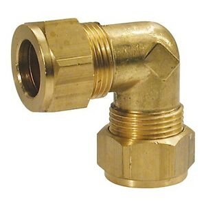 Wade-Brass-3-16-034-Equal-Elbow-Compression-Fitting-Copper-Olives
