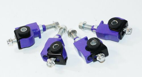 F/&R Camber kit PURPLE FOR88-95 Civic 88-91CRX 93-97 DelSol 94-01 Acura Integra