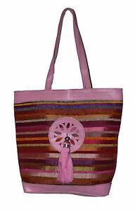 Leather Handbag Moroccan Handmade purse Women Shopping Bag Clutch Sabra