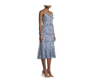 Michael-Kors-Womens-Ruffle-Dress-Size-L-NWT-195-00