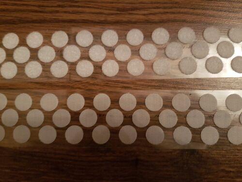 Alfatex ® fournis par velcro ® 16mm dots blanc auto adhésif pièces