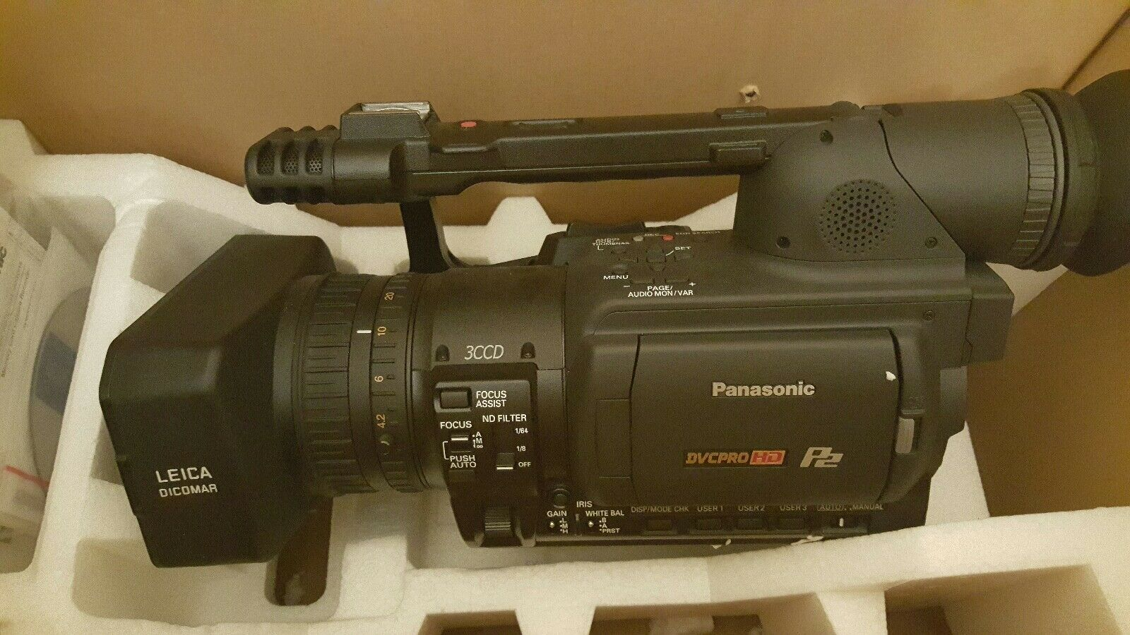 Panasonic HX-WA20 Camcorder External Microphone XM-AD2 Dual Channel XLR-Mini Audio Adapter for DSLR/'s Camcorders and Pro Video Cameras with SDC-26 Case