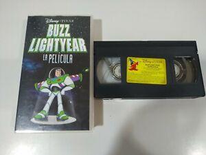 BUZZ-LIGHTYEAR-LA-PELICULA-TOY-STORY-DISNEY-PIXAR-VHS-Cinta-Tape-Espanol