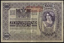 Österreich / Austria 10.000 Kronen 1918 (1919) Pick 65 (3)