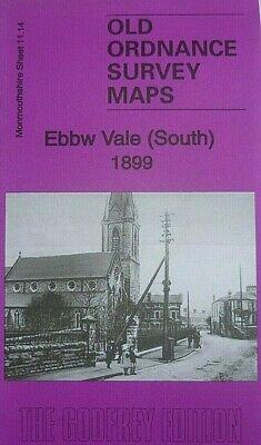 OLD Ordnance Survey Detailed Maps Nottingham Sherwood 1899 Godfrey Edition New