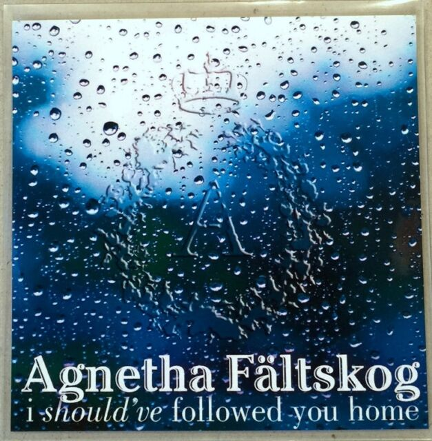 AGNETHA FALTSKOG / GARY BARLOW * I SHOULD'VE FOLLOWED.. * EURO 4 TRK PROMO * HTF