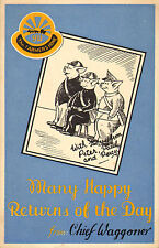 many happy returns of the day from chief waggoner ! 1939 - pigs as wardens