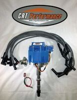 AMC V8 290-401 GM HEI Distributor & PLUG WIRES *CRT PERFORMANCE QUALITY*
