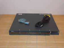 Cisco Catalyst WS-C3560X-48P-L 1x PWR 715W AC LAN Base feature set